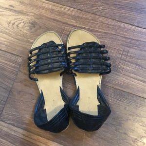 Charlotte Russe Black sandal